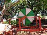 Irrigação rolão idroturbo 125x350 pouco uso