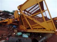 Carreta transbordo canavieira agrícola serve p/ caminhão trator Massey john deer