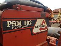 Plantadeira semeato PSM 9 linhas plantio direto monitor de semente