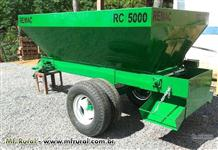 CARRETA  DISTRIBUIDOR  DE ESTERCO RC 5000
