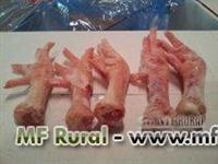 representante de uma empresa de pés de galinha da Espanha