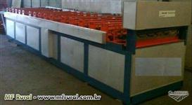 Máquina perfiladeira para fabricar telhas metálicas
