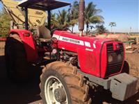 Trator Massey Ferguson c/redutor 4x4 ano 09