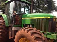 Trator John Deere 7505 4x4 ano 04