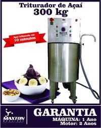 triturador de a�ai 300 kg