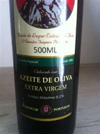 AZEITE DE OLIVA PORTUGUÊS Desde 1880 (Acidez Máxima 0,2%)