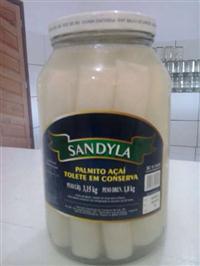 Palmito de A�a� Inteiro, Picado, Rodela pote 1.8kg e 300gr - Super Saboroso