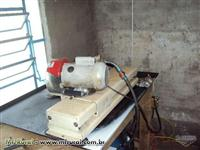 Máquina de amolar facas - Afiadora de facas para picador de madeiras