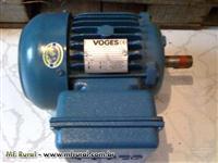 Motor elétrico VOGES - 2cv - mono 220V - 1730RPM (4 pólos) - IP55 (SEM USO)