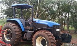 Trator Ford/New Holland 7020 4x4 ano 10