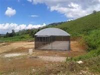 Estufa Agrícola para Hidroponia ou Produção de Mudas e Flores