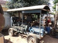Motor de irrigação mercedes benz 6 cilindros com bomba ksb 100/5