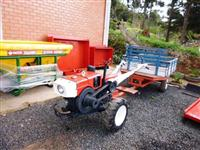 Mini/Micro Trator Yanmar TC 10 4x2 ano 85
