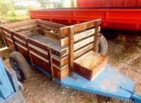 Carreta Agrícola para Micro Trator