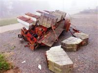 Caminhão Mercedes Batido