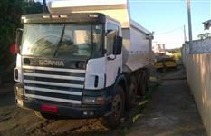 Caminh�o  Scania 6x8 tra�ado ca�amba  ano 06