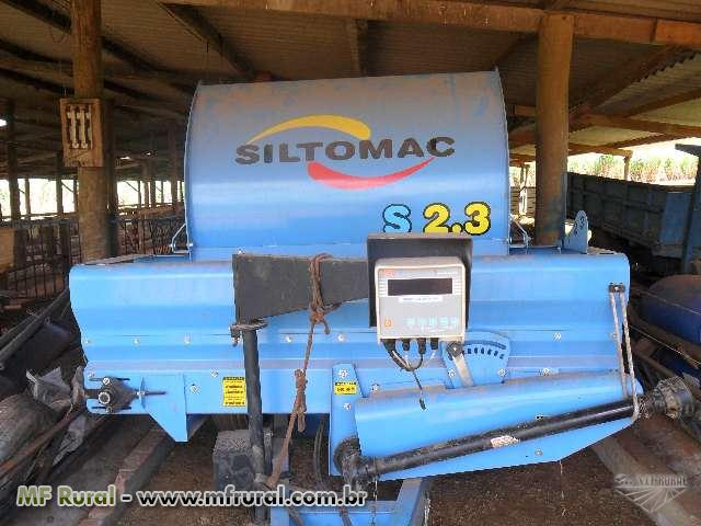 Vagão misturador e distribuidor de ração SILTOMAC