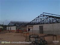 Estruturas Metálicas com R$ 35,00 o metro/2  de mão de obra em limeira Sp