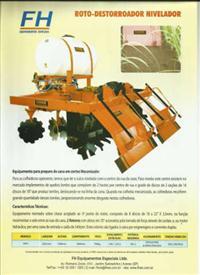 Roto- Destorroador Nivelador