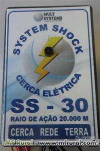 Eletrificador para Cerca Rural SYSTEM SHOCK  Bivolt para 20km