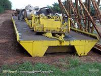 Plataforma de descarga(tombador de carretas basculante)