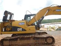 Escavadeira CATERPILLAR 320DL ano 2008 série A8F00317