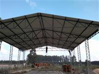 Galpão, Alambrado, Tela, cerca, Telhado, Mezanino, Campo Futebol, Construção