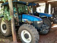Trator Ford/New Holland TL 85 4x4 ano 13