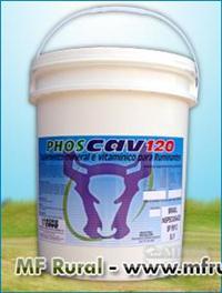 PHOSCAV 120 PROBIÓTICO 10 KG (FRETE GRÁTIS PARA TODO O BRASIL)