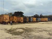 Gaiolas para transporte de cana