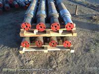 Eixo de Aço 1045 4.1/2 á 7.1/2 (De vagão ) Brutos/ pré usinados ou cortados