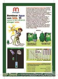 Bombas para irrigação solares