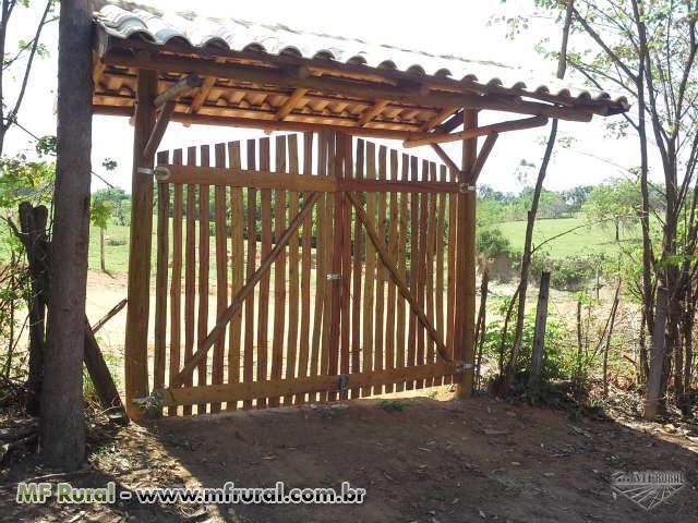 cerca de eucalipto tratado para jardim : cerca de eucalipto tratado para jardim:Cercas de madeira eucalipto tratado Instalações Rurais Instalações