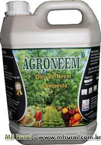 ÓLEO DE NEEM - NIM AGRICOLA AGRONEEM ORIGINAL - PRODUTO DE 1ª LINHA GALÃO 5 L