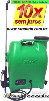 Pulverizador Costal Eletrônico - Jetbras 18 LITROS - Frete Grátis Sul e Sudeste