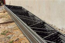 Tesoura metálica de 10 metros (estrutura metálica)