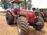 Trator Massey Ferguson 660 Advanced 4x4 ano 07