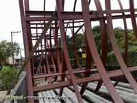Fabricação de galpãos e estruturas metalicas em geral!