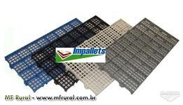 Estrado - piso - pallet - palete - deck  (plastico PEAD ou PP)