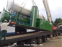 Autoclave Compacta para Tratamento de Madeira