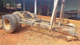 carreta pneu duplo para transporte de madeira