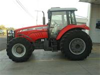 Trator Massey Ferguson 7180 CABINADO 4x4 ano 10