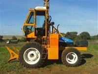 Trator Carregadeiras Santal CPM master New holland TS 60000 4x4 ano 07