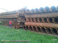 Tubos em ferro dn 400mm
