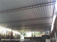 Estruturas metálicas em geral/ Coberturas, Telhados, treliças e outros