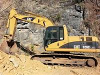 Escavadeira Caterpillar 320 Ano 2006