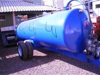 Distribuidor de esterco liquido com bomba a Vácuo 5000 Litros