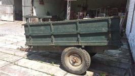 Carreta basculante manual para 3 toneladas