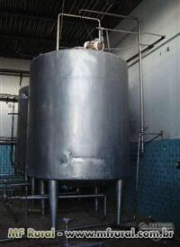 Tanque 15.000lts Cilindríco De Estocagem E Pasteurização