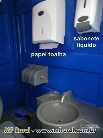 Banheiro químico, tendas, container,  venda e aluguel